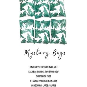 Mystery bags shirts